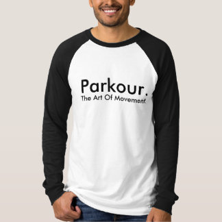 Camisa adaptable del equipo de Parkour