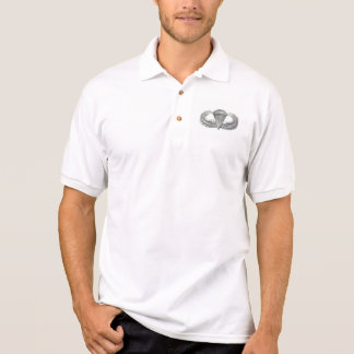 camisa aerotransportada del golf