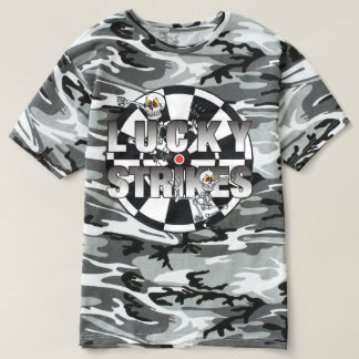 Camisa afortunada de los dardos de las huelgas
