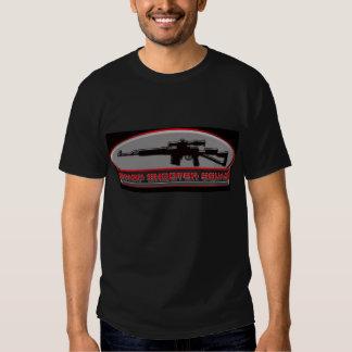 Camisa aguda 3 del pelotón de las pistolas