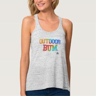 Camisa al aire libre del vago del arco iris