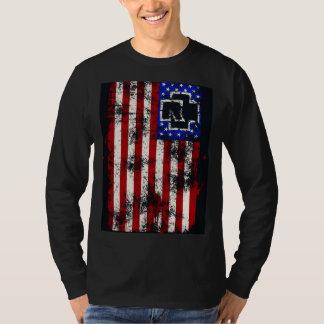 Camisa alemana americana del metal