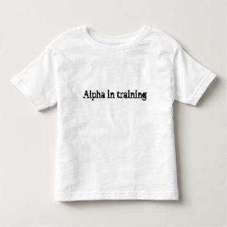 Camisa alfa futura del niño