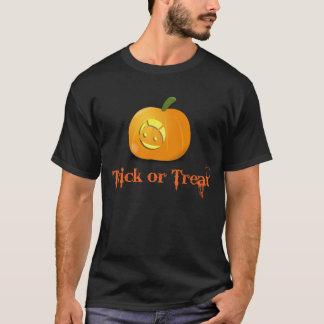 Camisa androide fresca de Halloween de la calabaza