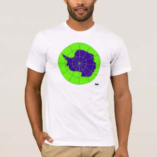 Camisa antártica de la impresión del CYCAD
