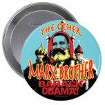 Camisa anti de Marx Brother Obama Pins