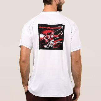 Camisa atlética del Motorsports de los pueblos
