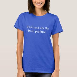 camisa azul del orgullo del servicio de entrega de