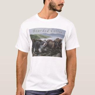 Camisa barbuda del collie