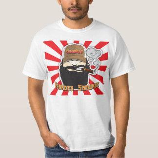 Camisa barbuda del ir de discotecas del cigarro
