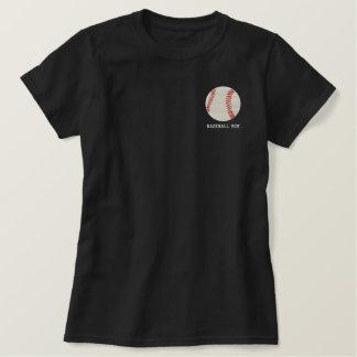 Camisa bordada bola personalizada del béisbol