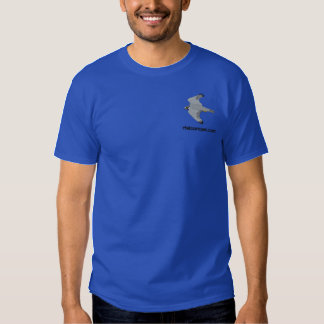 Camisa bordada de color claro de Rfalconcam