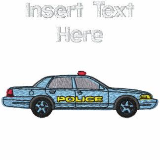 Camisa bordada de encargo del oficial de policía camiseta polo