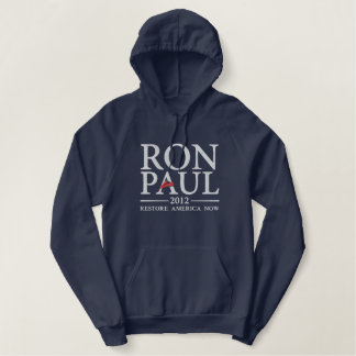 Camisa bordada de Ron Paul 2012
