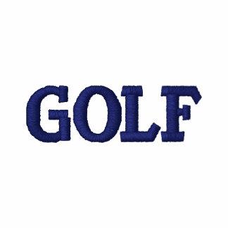 Camisa bordada del golf de los hombres camiseta polo