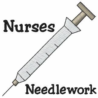 Camisa bordada enfermera
