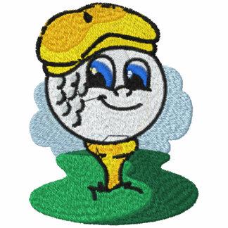 Camisa bordada Golfing Camiseta Polo