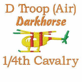 Camisa bordada Loach de la caballería OH-6 de D