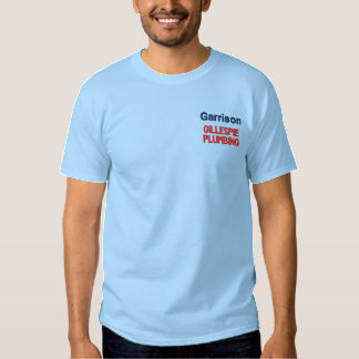 Camisa bordada negocio de encargo