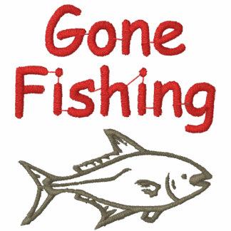 Camisa bordada pesca de encargo