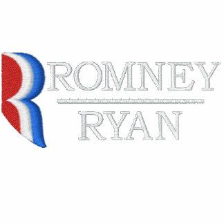 Camisa bordada R del cuello de Romney Ryan Camiseta Polo