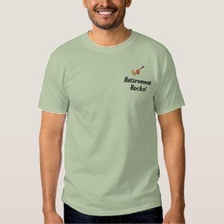 Camisa bordada retiro del golf