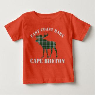 Camisa bretona del tartán del cabo de los alces
