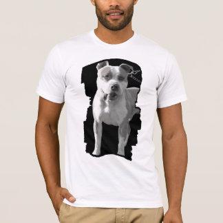 camisa cabida para hombre del pitbull