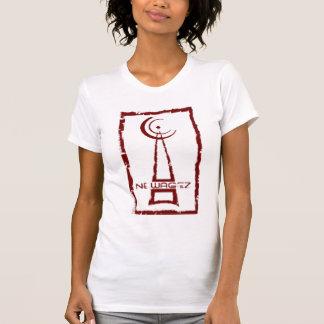 Camisa caliente para mujer del corte