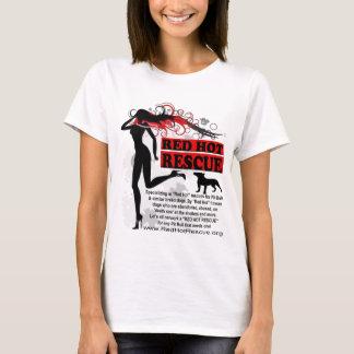 Camisa candente Desgin - logotipo grande del