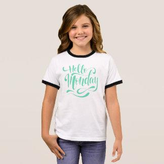 Camisa caprichosa linda del campanero de lunes el
