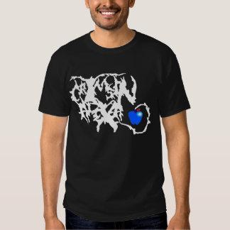 Camisa carmesí del logotipo de Alexa - oscuridad