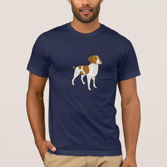 Camisa CD del dibujo animado del perro de aguas de