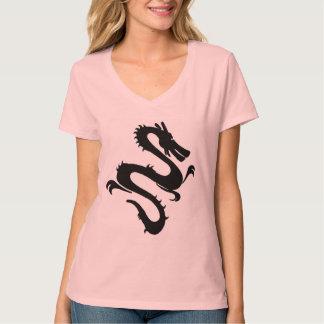 Camisa china de las señoras del dragón