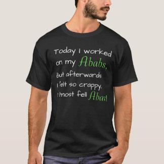 Camisa chistosa de la conciencia de la enfermedad