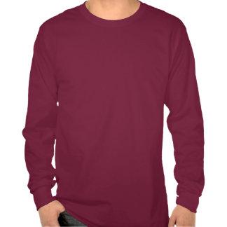 Camisa común de los centavos de la manga larga