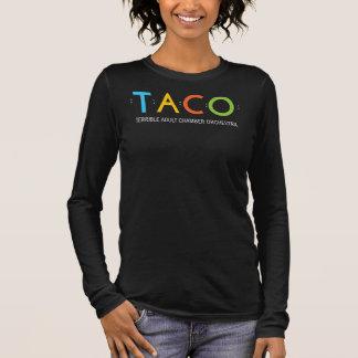 Camisa con cuello de pico relajada del TACO de la