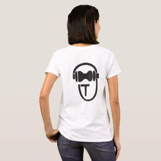 Camisa con el logotipo de TEnsko - trasero - luz