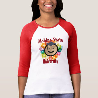 Camisa con mangas de la universidad de estado de