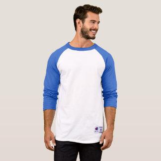 Camisa con mangas del raglán 3/4 del campeón de