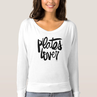 Camisa con mangas larga del amante de Pilates
