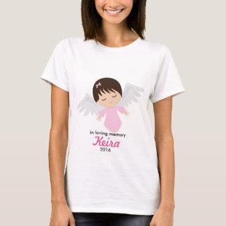 Camisa conmemorativa del ángel del bebé - pérdida