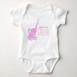 Camisa conocida de los nuevos del bebé del body para bebé
