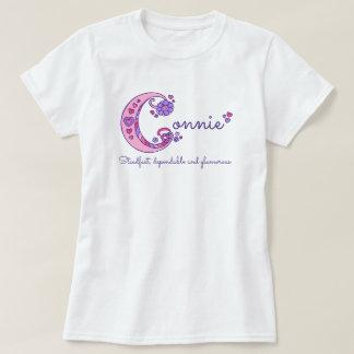 Camisa conocida del monograma del significado de