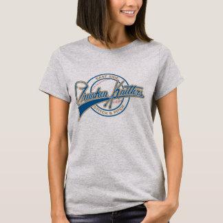 Camisa corta del béisbol de la manga de las