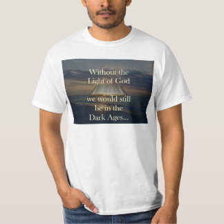 Camisa cristiana de la biblia de la palabra