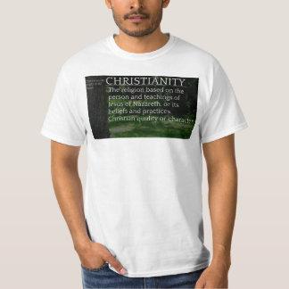 Camisa cristiana de la definición