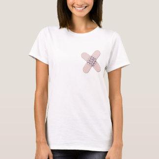 Camisa cruzada divertida de la mastectomía de los