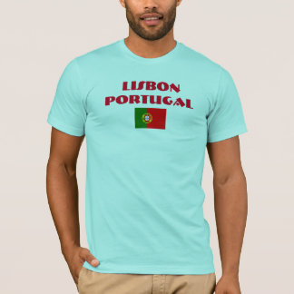 Camisa de alta calidad de Lisboa Portugal