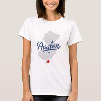 Camisa de Avalon New Jersey NJ